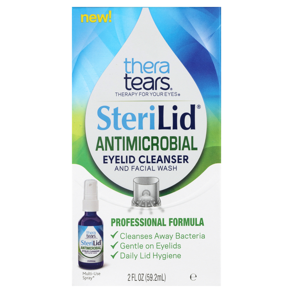 Theratears SteriLid Eyelid Cleanser & Facial Wash Antimicrobial