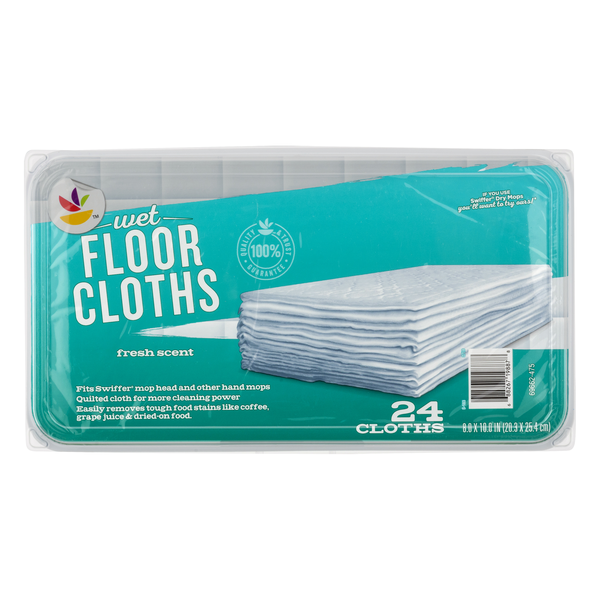 GIANT Wet Floor Cloths Fresh Scent