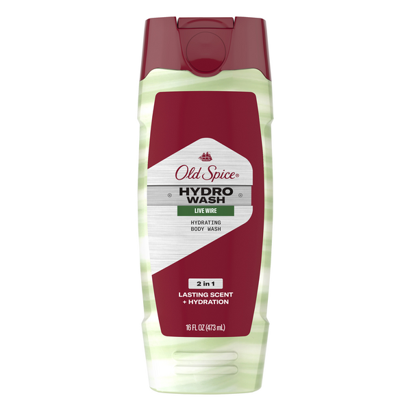 Old Spice Hydrating Body Wash Live Wire