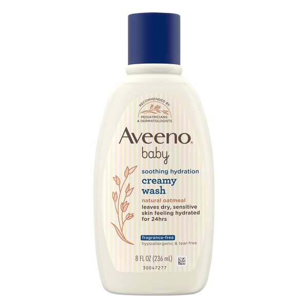 Aveeno Baby Soothing Hydration Creamy Wash Fragrance Free