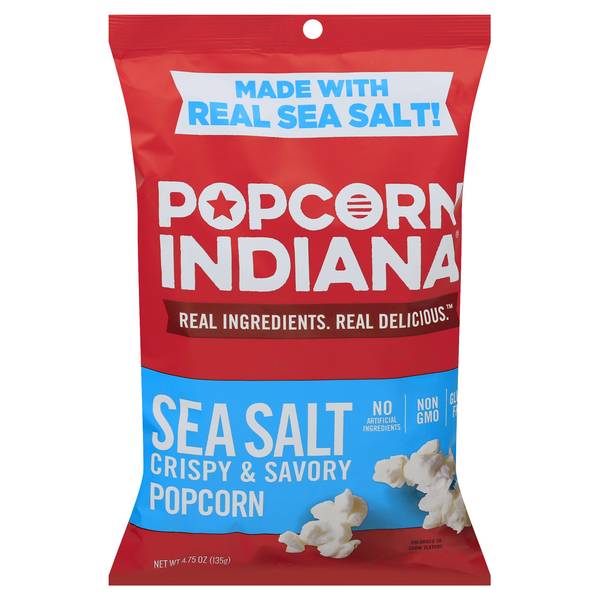 Popcorn, Indiana Popcorn Sea Salt All Natural