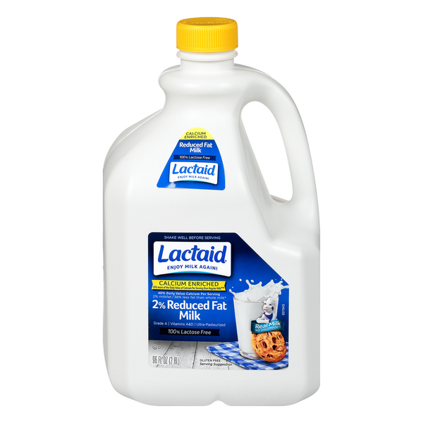 Lactaid 2% Reduced Fat Milk Calcium Enriched