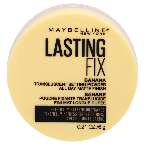 Maybelline Lasting Fix Transulsent Setting Powder Banana