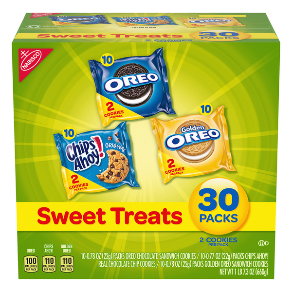 Nabisco Oreo Sandwich Cookies Sweet Treats Variety Pack - 30 pk