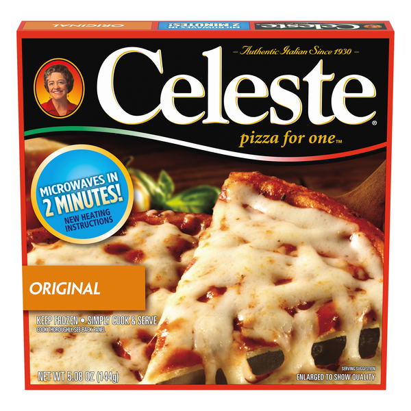 Celeste Pizza For One Original Cheese