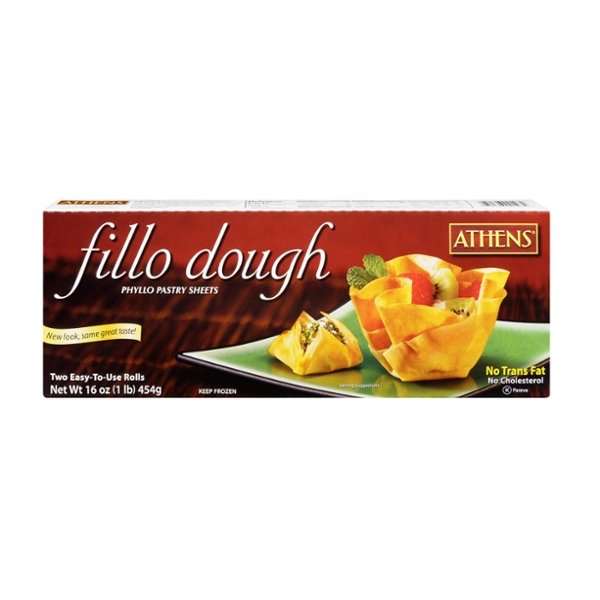 Athens Fillo Dough Twin Pack - apx 20 sheets per pack