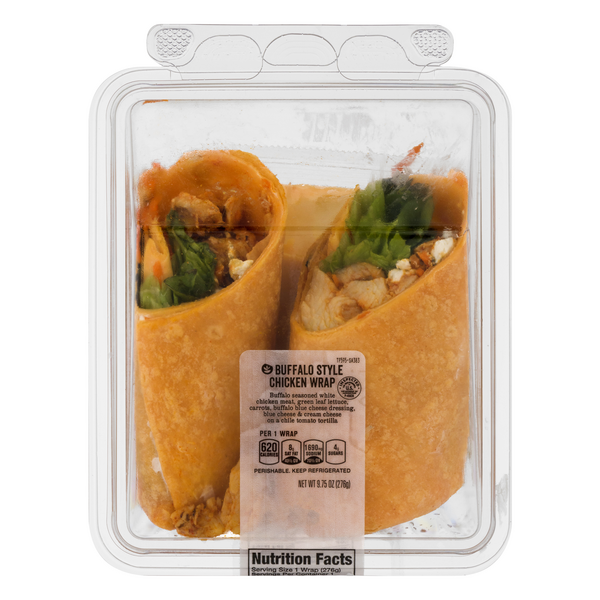 Stop & Shop Wrap Buffalo Style Chicken