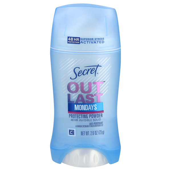 Secret Outlast Anti-Perspirant Deodorant Protecting Powder Invisible Solid