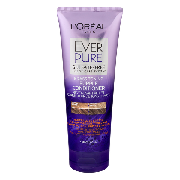 L'Oreal EverPure Brass Toning Purple Conditioner