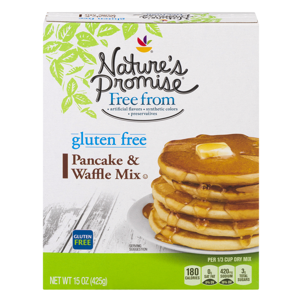 Nature's Promise Free from Pancake & Waffle Mix Gluten Free