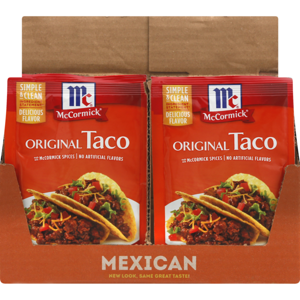 Save On Mccormick Taco Seasoning Mix Packet Original Order Online Delivery Giant