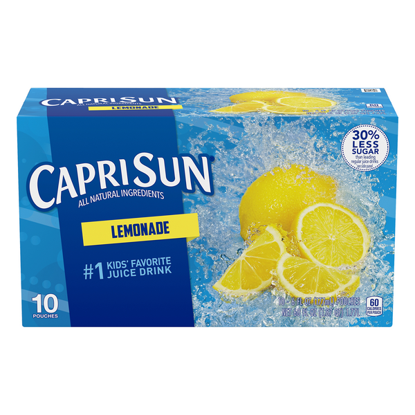 Capri Sun Lemonade All Natural - 10 pk