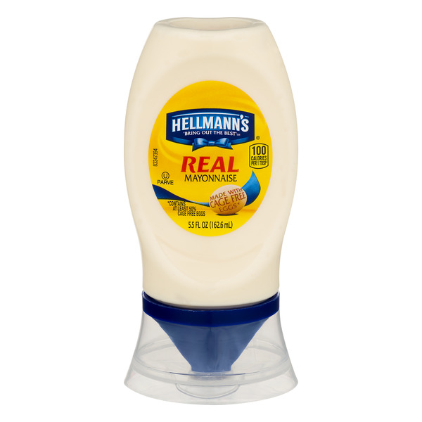 Hellmann's Real Mayonnaise Made with Cage Free Eggs