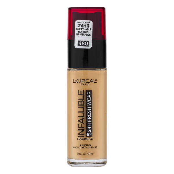L'Oreal INFALLIBLE up to 24H Fresh Wear Foundation Radiant Sand 480