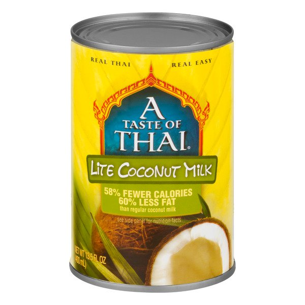A Taste of Thai Coconut Milk Lite