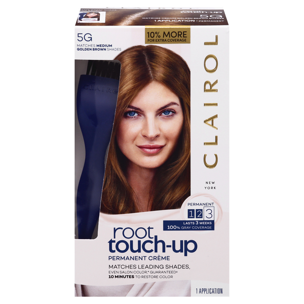 Clairol Nice 'n Easy Root Touch-Up Permanent Color Medium Golden Brown 5G