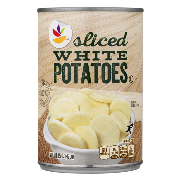 GIANT Sliced White Potatoes