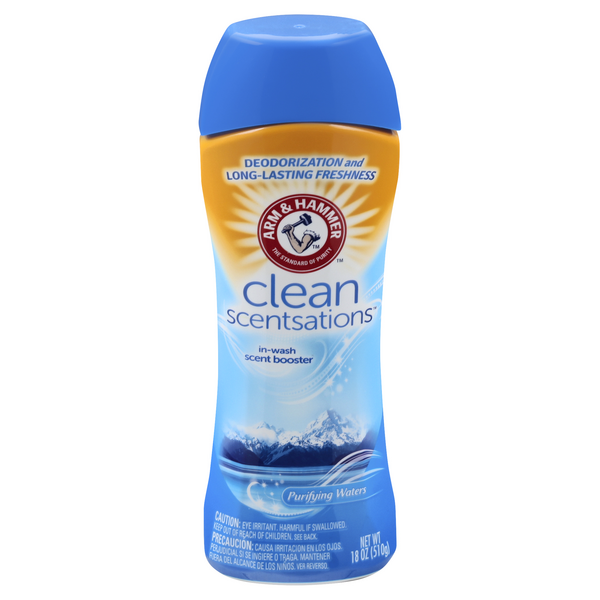 Arm & Hammer Clean Scentsations In-Wash Scent Booster Purifying Waters