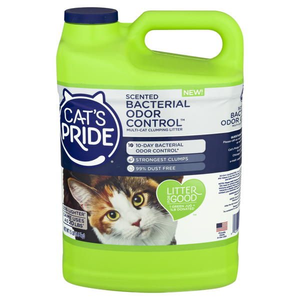 Cat's Pride Multi-Cat Clumping Liter Scented Bacterial Odor Control
