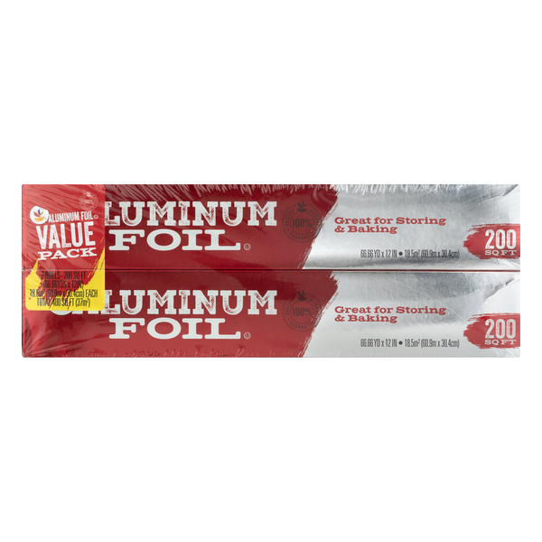 MARTIN'S Aluminum Foil Value Pack - 2 ct