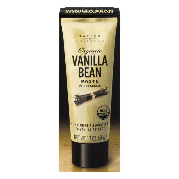 Taylor & Colledge Vanilla Bean Paste with Seeds Organic