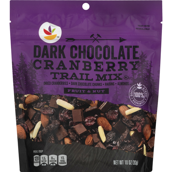 Stop & Shop Fruit & Nut Trail Mix Dark Chocolate Cranberry