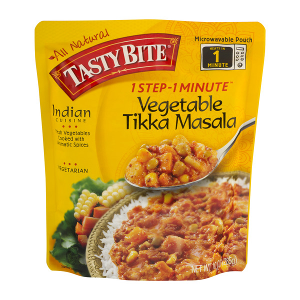 Tasty Bite 1 Step - 1 Minute Vegetable Tikka Masala