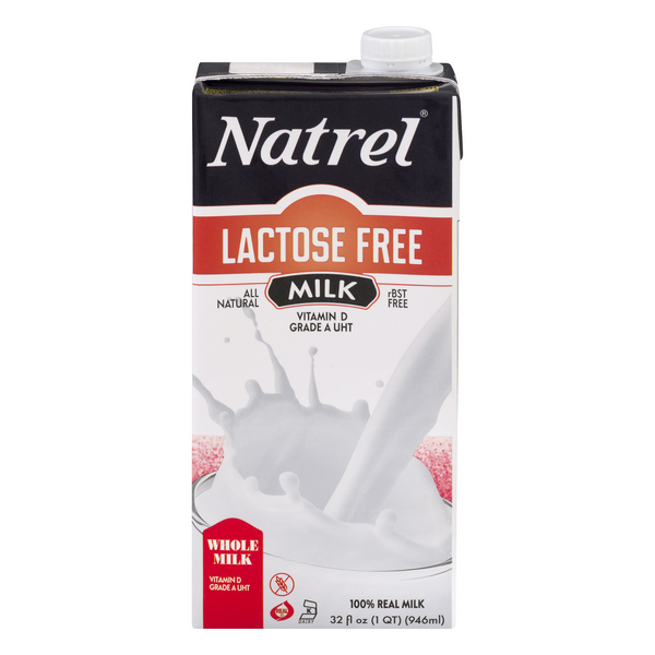 Natrel Whole Milk Lactose Free