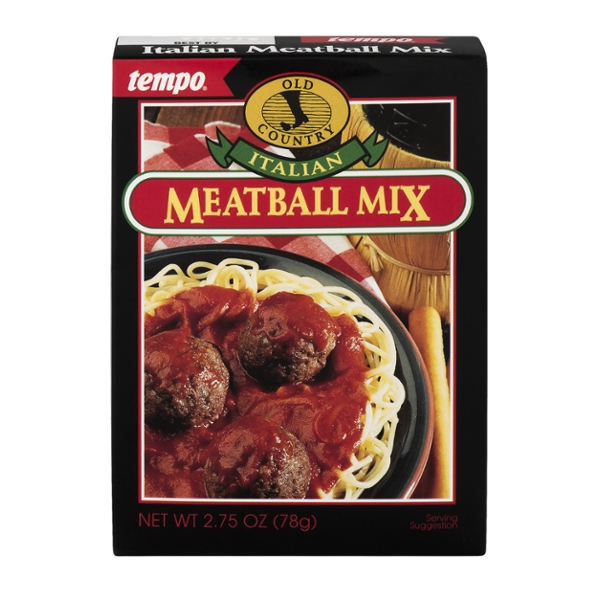 Tempo Old Country Italian Meatball Mix