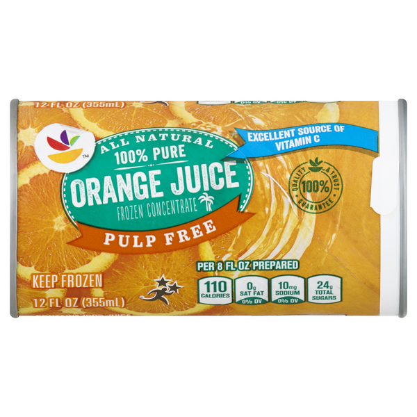 MARTIN'S 100% Pure Orange Juice Pulp Free Concentrate Frozen