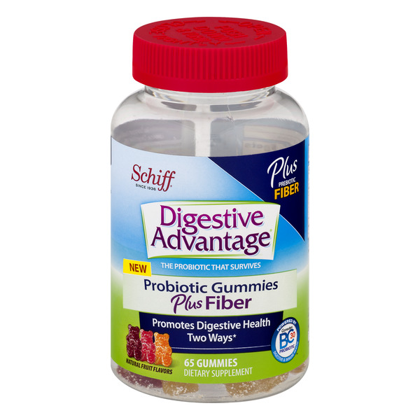 Digestive Advantage Probiotic Plus Fiber Gummies