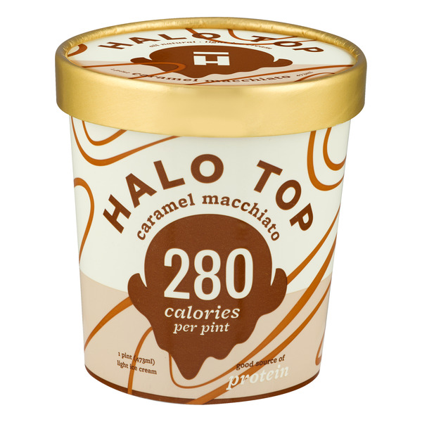 Halo Top Light Ice Cream Caramel Macchiato