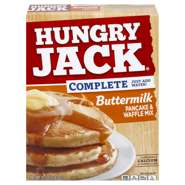 Hungry Jack Complete Pancake & Waffle Mix Buttermilk