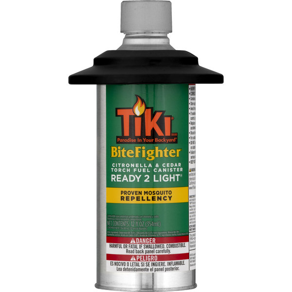 Tiki BiteFighter Citronella Ready 2 Light Prefilled Torch Fuel