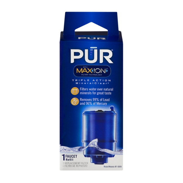 PUR MineralClear Faucet Refill Water Filtration System #Rf-9999