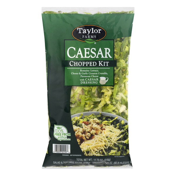 Taylor Farms Chopped Salad Kit Caesar