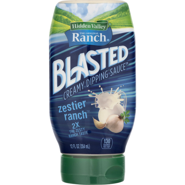 Hidden Valley Blasted Creamy Dipping Sauce Zestier Ranch
