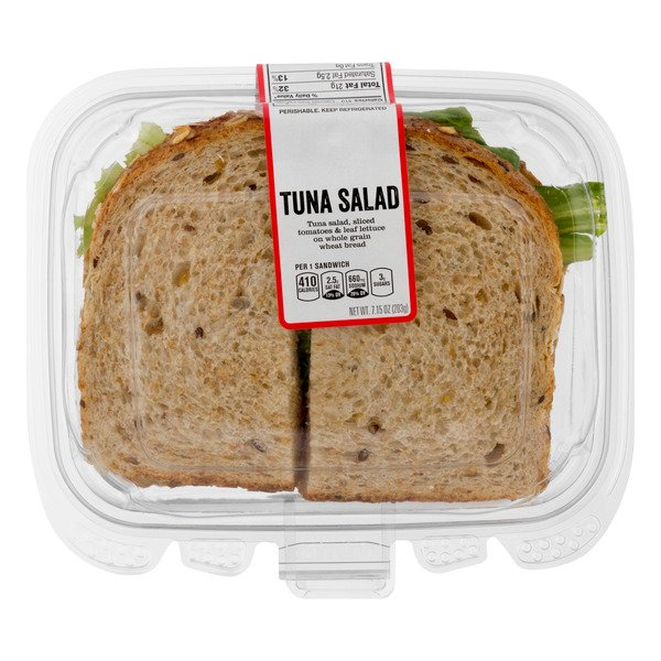 GIANT Deli Sandwich Tuna on Whole Grain Wheat Bread