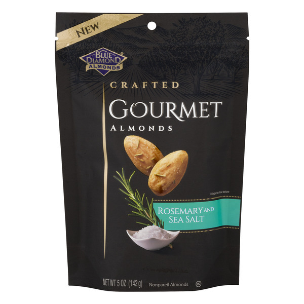 Blue Diamond Almonds Crafted Gourmet Almonds Rosemary and Sea Salt