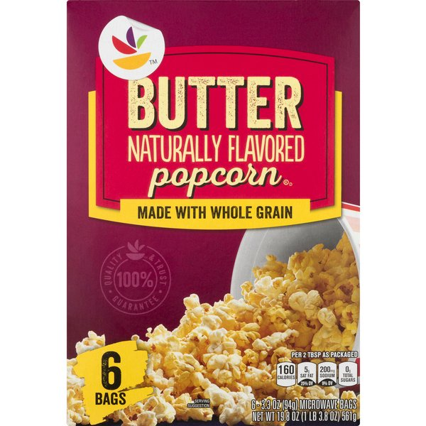 MARTIN'S Microwave Popcorn Butter