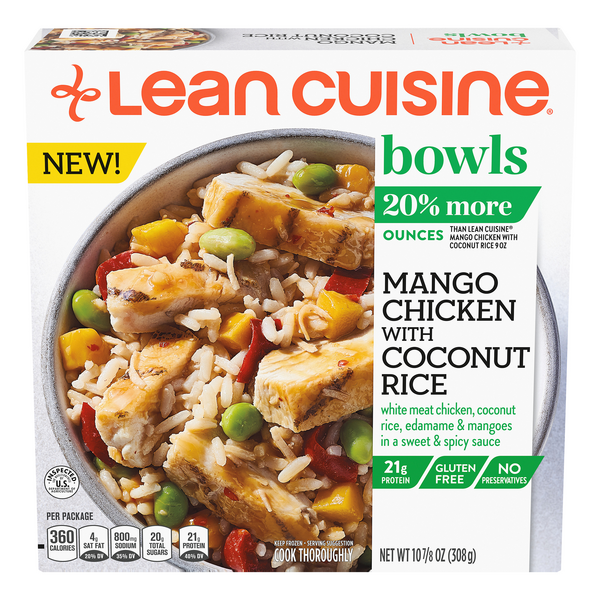 Lean Cuisine Bowls Mango Chicken with Coconut Rice