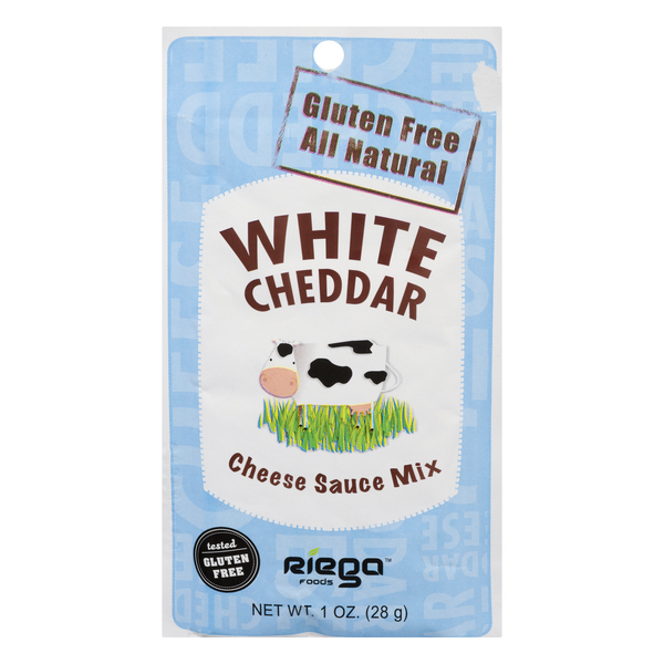 Riega Foods Cheese Sauce Mix White Cheddar Gluten Free