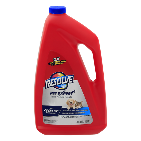 Resolve Pet Expert Steam Machine Formula with Odor Stop