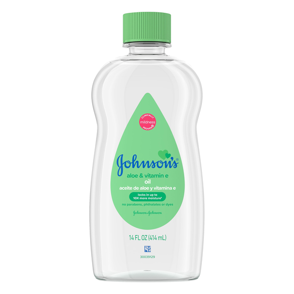 Johnson's Baby Oil Aloe Vera & Vitamin E