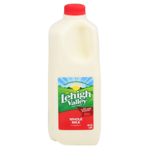 Lehigh Valley Dairy Pure Whole Vitamin D Milk
