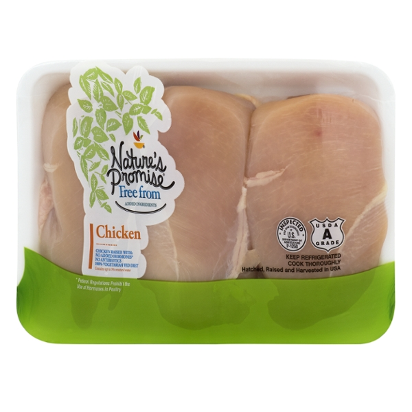 Nature's Promise Free from Chicken Breasts Boneless Skinless Fresh