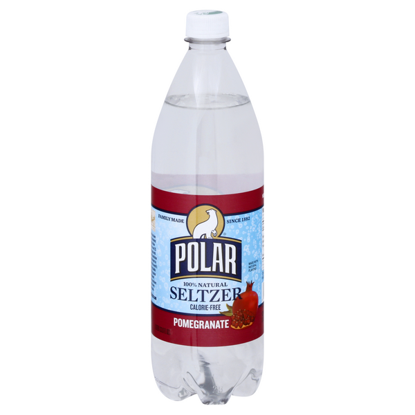Polar Seltzer Water Pomegranate 100% Natural Calorie Free