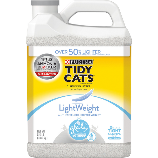 Purina Tidy Cats Lightweight Clumping Litter Glade Clear Springs Scented