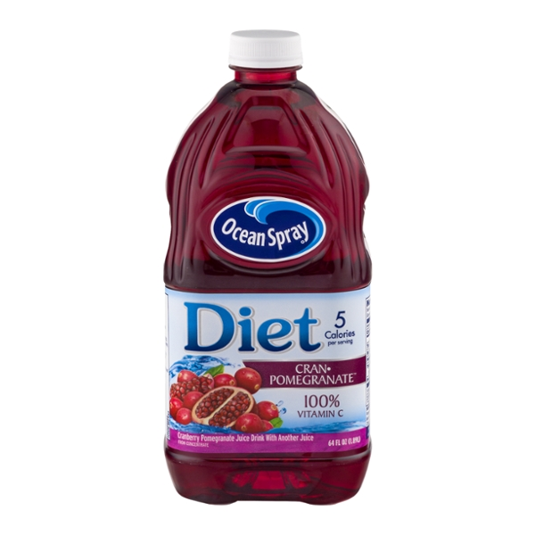 Ocean Spray Cranberry Pomegranate Juice Drink Diet