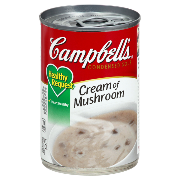 Campbell's Healthy Request Condensed Soup Cream of Mushroom